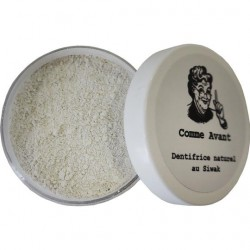 Dentifrice Naturel Siwak - COMME AVANT