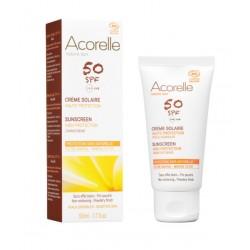 Crème Solaire Visage SPF 50 - ACORELLE