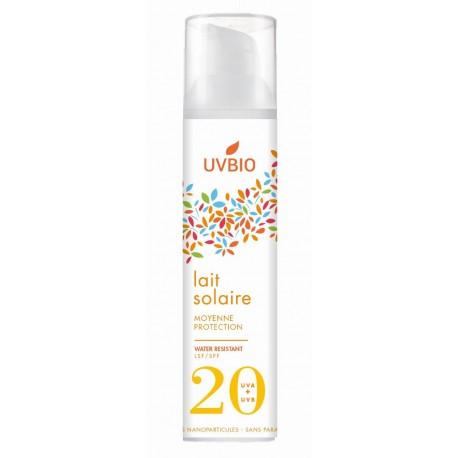Lait Protection Solaire SPF20 - UVBIO