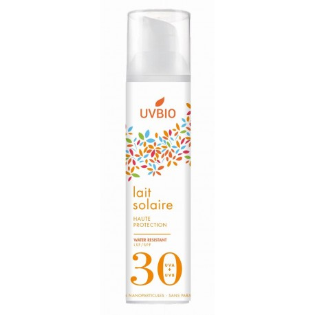 Lait Protection Solaire SPF 30 - UVBIO
