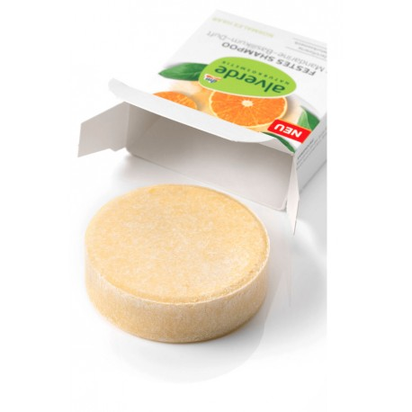 Shampoing Solide mandarine / basilic - ALVERDE