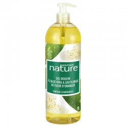 Gel Douche Aloe Vera & Fleur d'Oranger - BOUTIQUE NATURE