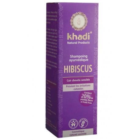 Shampoing Ayurvédique Hibiscus - KHADI