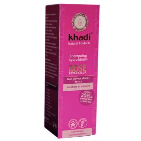 Shampoing Ayurvédique Rose - KHADI