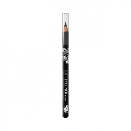 Crayon Yeux Soft Eyeliner Black - LAVERA