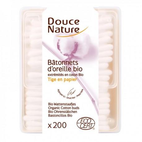 Bâtonnets d'Oreille Bio - DOUCE NATURE