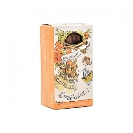 Savon Orange Cannelle - LES SAVONS D'ORÉLY
