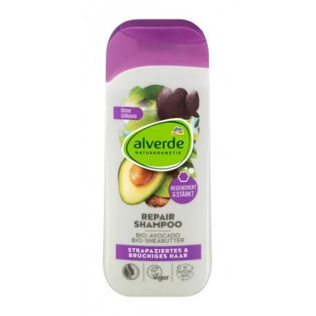 Shampooing Réparateur - Cheveux Abimés et Cassants - 200ml-Alverde