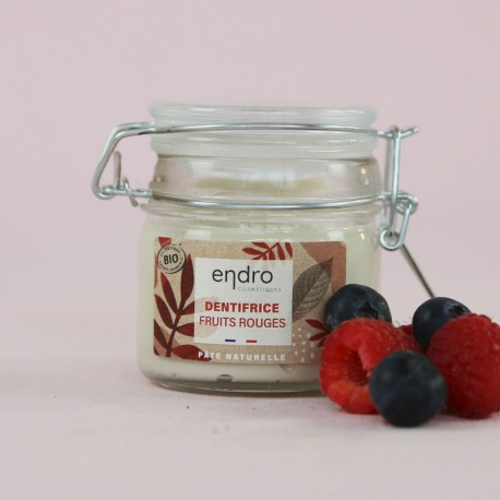 Dentifrice Bio Fruits Rouges - ENDRO