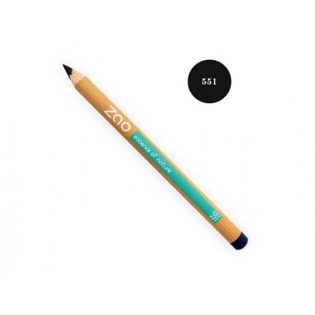 Crayon Yeux Lèvres Sourcils Noir - ZAO