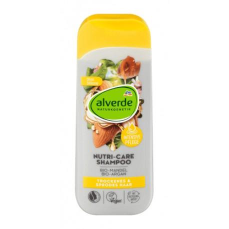 Alverde - Shampooing Nutri-Care - Cheveux Secs et Cassants - 200ml