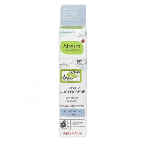 Alterra- Crème Hydratante-Sensitiv-Yeux-15ml
