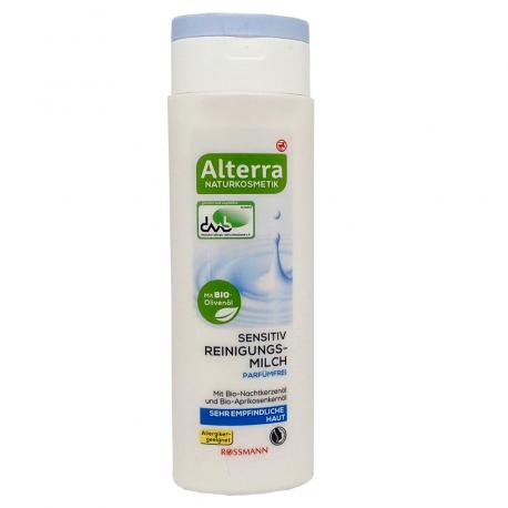 Alterra- Lait Démaquillant- Sensitiv-Sans Parfum-150ml