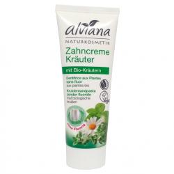 Dentifrice aux plantes sans fluor-75ml-Alviana