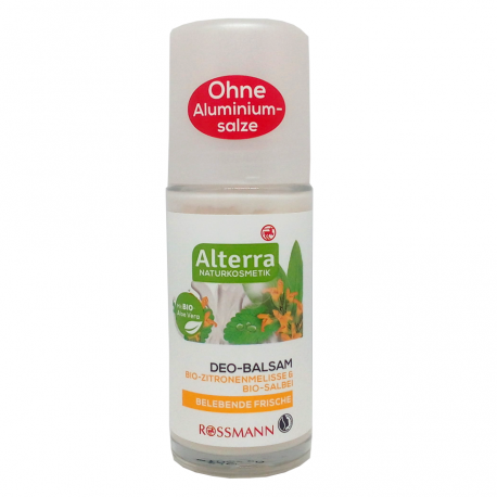 "Deodorant-""Citron Mélisse Sauge"" Alterra"