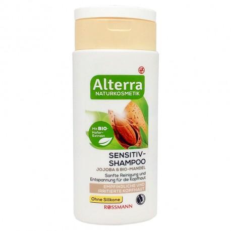 Alterra- Shampooing Sensitive- Cheveux Sensibles Irrités-200ml