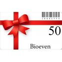 Carte Cadeau Bioeven 50€