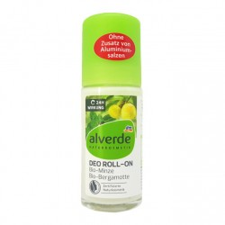 Déodorant Roll On Aloe vera Menthe-Alverde