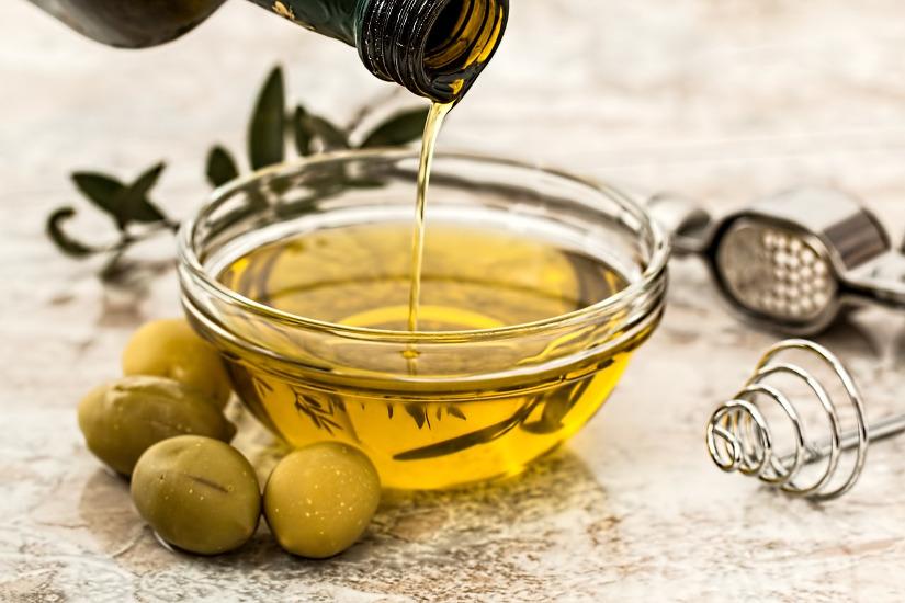 l'hydratation à base d'huile d'olive