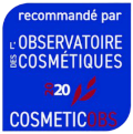 recommandé par l'observatoire des cosmétiques