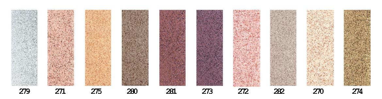 teintes ombres à paupières palette clin d'oeil numéro 1