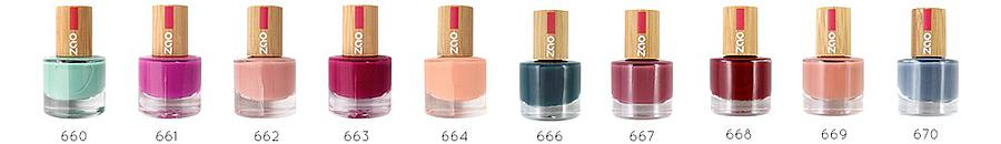 ZAO MAKE UP vernis à ongles